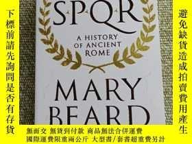 二手書博民逛書店罕見SPQRY231392 Mary Beard Pan 出版2