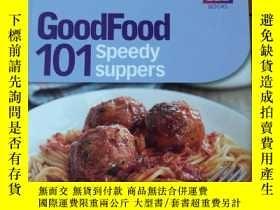 二手書博民逛書店GoodFood罕見101 speedy suppers(英文原