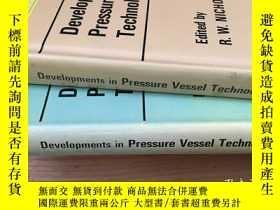 二手書博民逛書店Developments罕見in Pressure Vessel