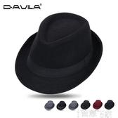 特賣紳士帽新款時尚紳士帽爵士帽韓版潮男女英倫復古小禮帽休閒舞臺牛仔帽子