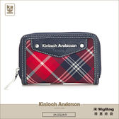 Kinloch Anderson 金安德森 皮夾 英式學院 紅/藍 經典格紋卡夾 女用零錢包  KA151207 MyBag得意時袋