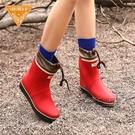 非常行雨鞋女短筒成人雨靴時尚防水鞋女士橡膠雨鞋 每日下殺NMS