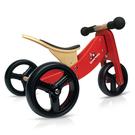 Kinderfeets 美國木製平衡滑步車/學步車-初心者三輪系列 (紅魔法)