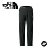 【The North Face 男 彈性長褲《黑》】A3RJR/休閒長褲