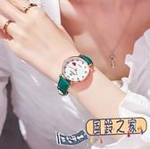 手錶 新款女士手表女中學生韓版時尚簡約小清新女孩風高中皮帶女款【風鈴之家】