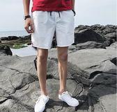 夏天運動短褲男士休閒褲五分褲青少年中褲寬鬆沙灘褲大褲衩潮褲子 魔方數碼館