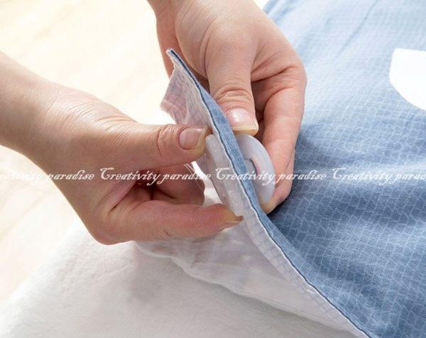 【棉被固定器】透明4入 棉被套防滑固定夾 毛毯床單防掉 寢具被子固定扣