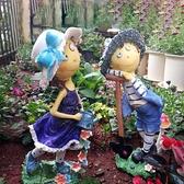 花園裝飾 庭院布置擺件戶外幼兒園裝飾擺件卡通人物