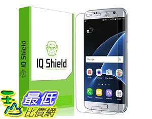 [105美國直購] 螢幕保護膜 Galaxy S7 Edge Screen Protector 2-Pack Full Coverage HD Ultra Clear Film Self-Healing B01CURN8FY