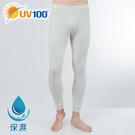 UV100 防曬 抗UV 親膚保濕彈力內搭褲-男