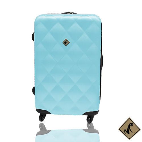 行李箱24吋 ABS材質 菱紋系列【Miyoko】