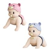 益智玩具 早教學習爬行玩具 聲效娃娃-JoyBaby