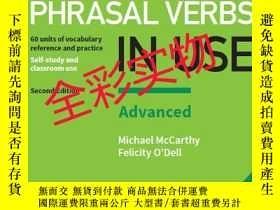 全新書博民逛書店EnglishPhrasal Verbs in Use Adva