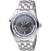 Hamilton 漢米爾頓 JAZZMASTER GMT世界圖騰機械腕錶 H32605181