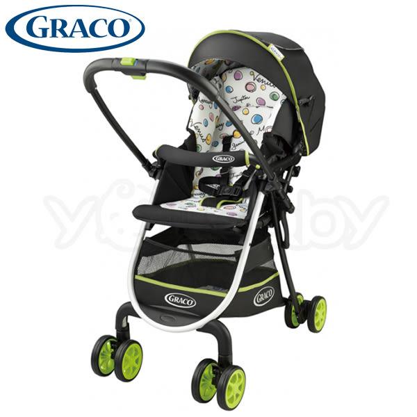 GRACO 超輕量型雙向嬰幼兒手推車 城市漫遊R 挑高版 CitiLite R UP -水果軟糖