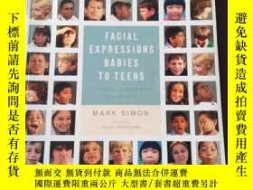 二手書博民逛書店Facial罕見Expressions Babies to Te