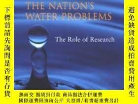 二手書博民逛書店Confronting罕見The Nation s Water Problems: The Role Of Res