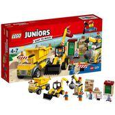 一件免運-樂高積木樂高小拼砌師系列10734爆破現場LEGOJuniors積木玩具xw