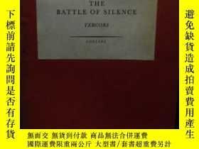 二手書博民逛書店The罕見Battle of Silence Vercors 1