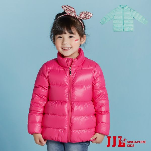 JJLKIDS 女童 經典超保暖高填充羽絨外套(2色)