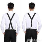 男士西裝襯衫西褲吊帶老人褲子鬆緊吊帶夾男成人吊帶防滑吊褲帶扣 格蘭小舖