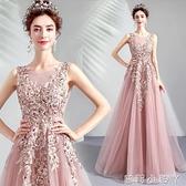 天使嫁衣柔粉色新娘結婚敬酒服晚宴年會演出伴娘婚紗禮服批發5088 NMS蘿莉新品