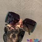 太陽眼鏡 2021韓版新款大框方形潮偏光墨鏡女大臉遮陽開車駕駛街拍太陽眼鏡寶貝計畫 上新