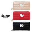 【日本正版】凱蒂貓 愛心造型 長夾 皮夾 錢包 Hello Kitty 三麗鷗 Sanrio 917619 917794 917817