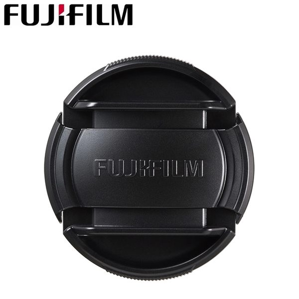 又敗家@富士Fujifilm原廠62mm鏡頭蓋中捏FLCP-62鏡頭蓋適XF 23mm F1.4 56mm F1.2 R LM OIS中扣快扣