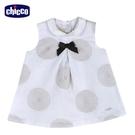 chicco-皇家時尚-繡大圓圈有領背心洋裝