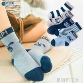 兒童襪子純棉秋冬寶寶嬰兒襪棉襪童襪男童女童中筒襪冬季加厚保暖 焦糖布丁