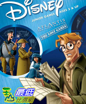 [106美國暢銷兒童軟體] Disney s Atlantis: The Lost Empire - The Lost Games - PC Mac
