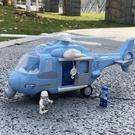 玩具車 兒童玩具飛機超大慣性仿真直升飛機男孩寶寶3歲音樂玩具車模型 薇薇