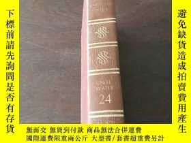 二手書博民逛書店FUNK罕見& WAGNALLS NEW ENCYCLO-PEDIA(UNITE WATER 24,英文原版)