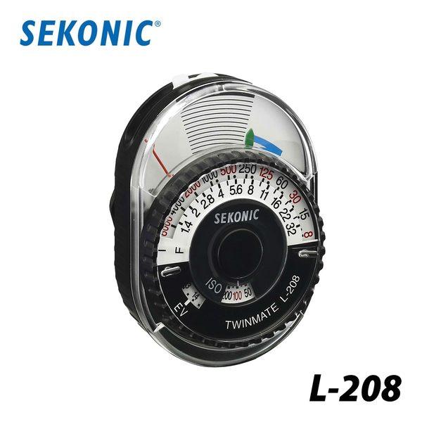 【聖影數位】SEKONIC L-208 L208 簡易型測光表 公司貨