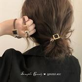 小香風髮圈高彈髮繩皮筋女馬尾扎頭繩皮套【愛物及屋】