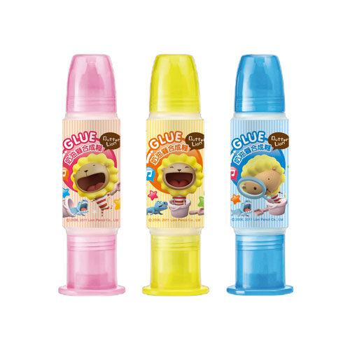奶油獅 GU-003 雙頭合成糊 35c.c(款式隨機出貨) / 瓶