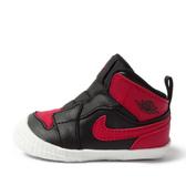 Nike Jordan 1 Crib Bootie [AT3745-023] 小童鞋 運動 休閒 喬丹 穿搭 學步 黑紅
