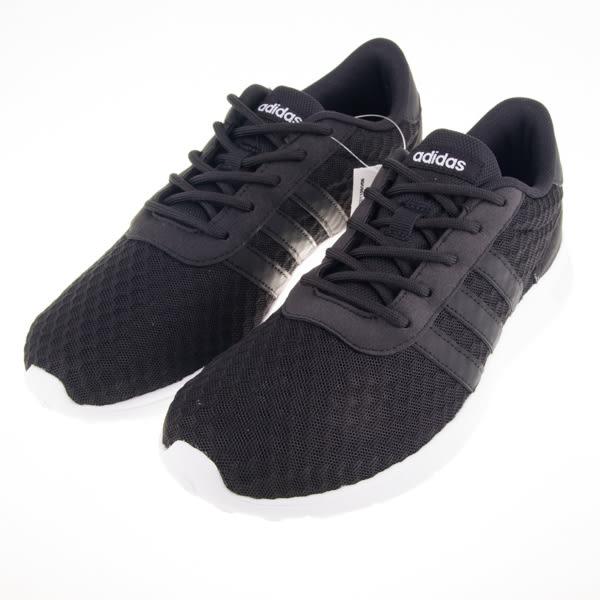 ADIDAS NEO系列 經典 黑白 女慢跑鞋 AW4960