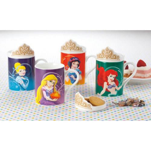 《sun-art》迪士尼公主陶磁馬克杯附造型蓋(小美人魚)★funbox生活用品★_NR23252
