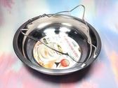 【 多功能蒸盤竹節鍋 深型】可放入電鍋當湯鍋、蒸盤使用~不需額外使用蒸架【八八八】e網購