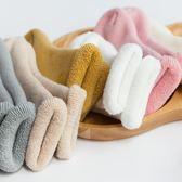秋冬寶寶高筒襪子純棉加厚嬰兒保暖中長筒鬆口男女童毛圈襪0-3歲〖米娜小鋪〗