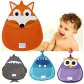 浴室玩具儲物袋收納掛袋網袋嬰可愛洗澡用品床頭掛袋置物袋 igo K-shoes