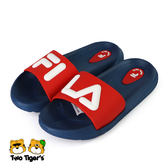 FILA KIDS MD 拖鞋 中童鞋 藍紅 NO.R5764