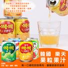 (即期商品) 韓國樂天 果粒果汁238ml(罐) #橘子