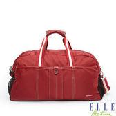 Backbager 背包族 【ELLE Active】 城市旅人系列 大容量 旅行袋_紅色