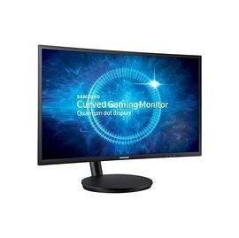 Samsung 三星 C24FG70FQE 24型 VA曲面液晶顯示器 贈CONCEPTRONIC 水舞喇叭 (黑色)
