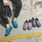 男士雨鞋 成人涉水鞋 淺口防水時尚雨靴男短筒廚房專用防滑膠鞋  【快速出貨八折下殺】