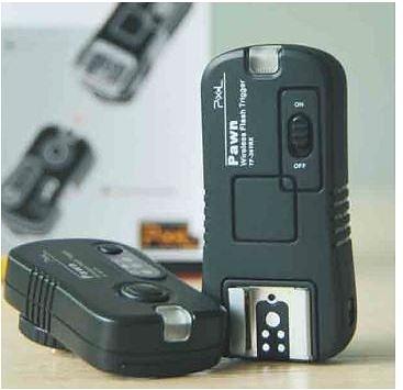 高雄 晶豪泰 品色 Pawn 無線電快門/閃光燈遙控器 (Wireless Flash Trigger)