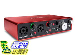 [8美國直購] 調頻器 Focusrite Scarlett 2i4 (2nd Gen) USB Audio Interface with Pro Tools | First